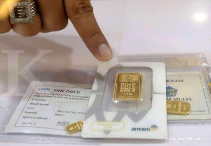 Harga emas Antam di Pegadaian pagi ini Rp 1.064.000 per gram (7 September 2020)