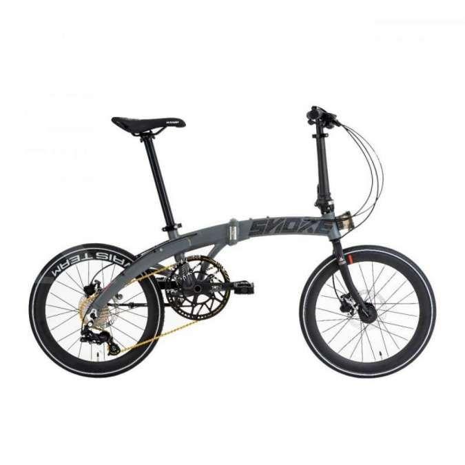 Baru, harga sepeda lipat Camp Snoke X Iko Uwais dibanderol terjangkau