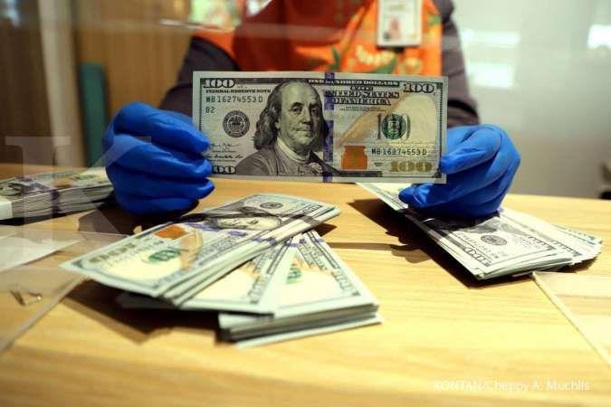 Kurs dollar-rupiad di BCA, hari ini Senin 26 Oktober 2020