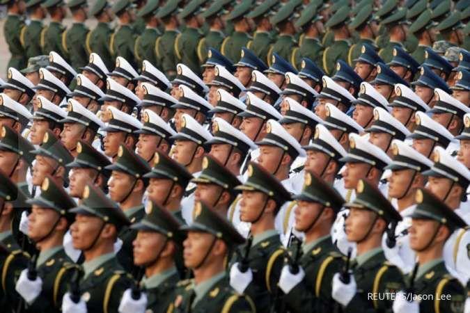 Was-was karena anggaran militer China naik, Jepang tuntut penjelasan