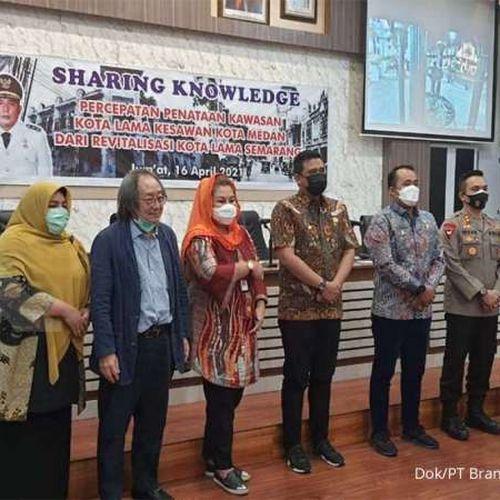 Usai Menyulap Cantik Kota Lama Semarang, Abipraya Berbagi Kiat Suksesnya untuk Medan