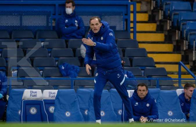 Chelsea gagal dalam perburuan Romelu Lukaku dari Inter Milan (Thomas Tuchel)