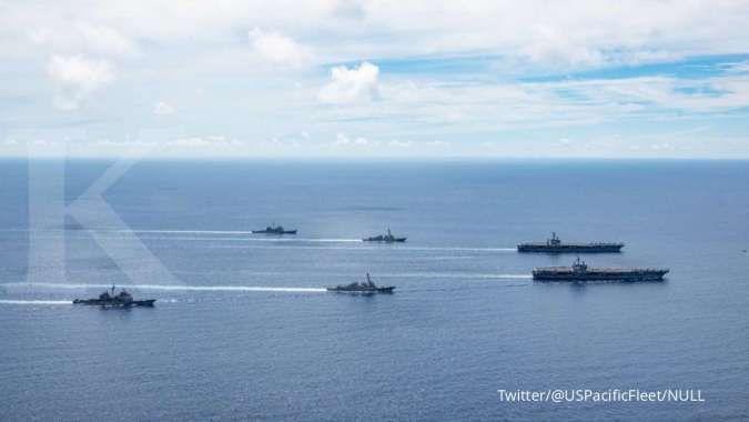 AS gelar latihan serangan pulau, persiapan perang lawan China?