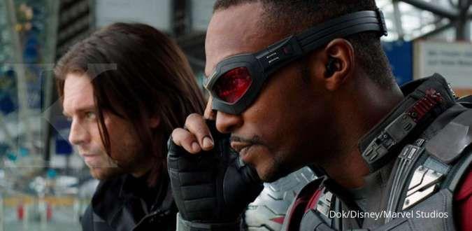 The Falcon and The Winter Soldier yang menampilkan Anthony Mackie dan Sebastian Stan