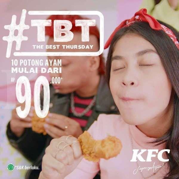 Promo KFC hari ini 11 Maret 2021