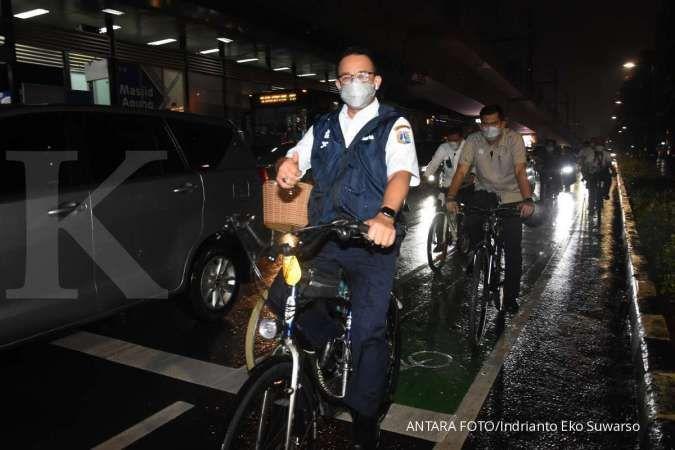Gubernur Anies minta kantor di DKI sediakan parkir sepeda minimal 10% & tempat mandi