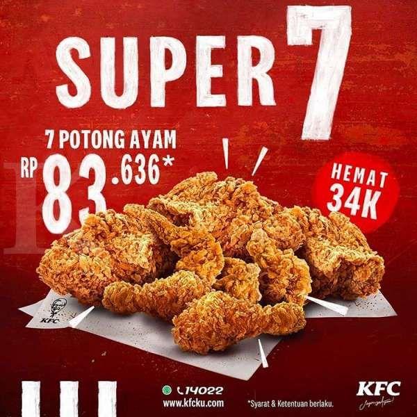 Promo KFC 24 � 31 Juli 2020