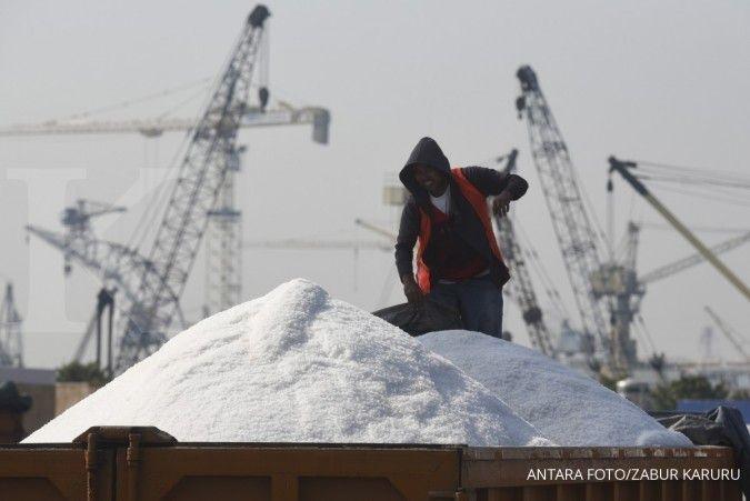 Realisasi impor garam baru mencapai 1,08 juta ton hingga menjelang akhir semester I