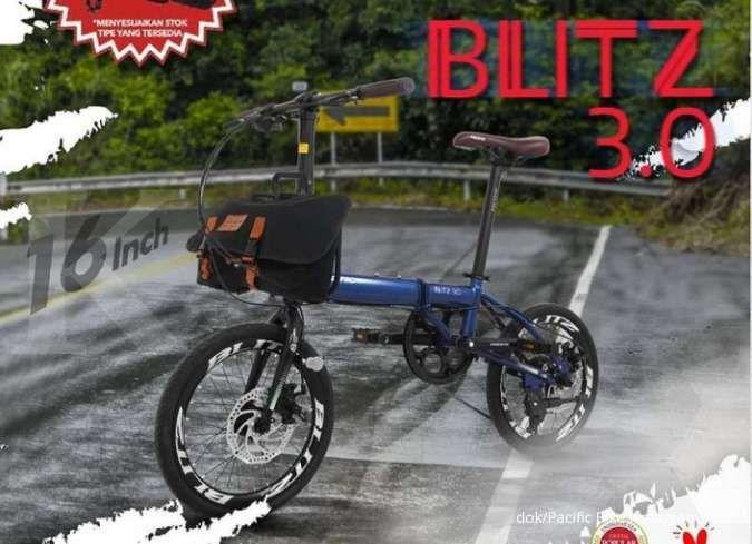 Baru, harga sepeda lipat Pacific Blitz 3.0 dipatok tidak sampai Rp 3 juta