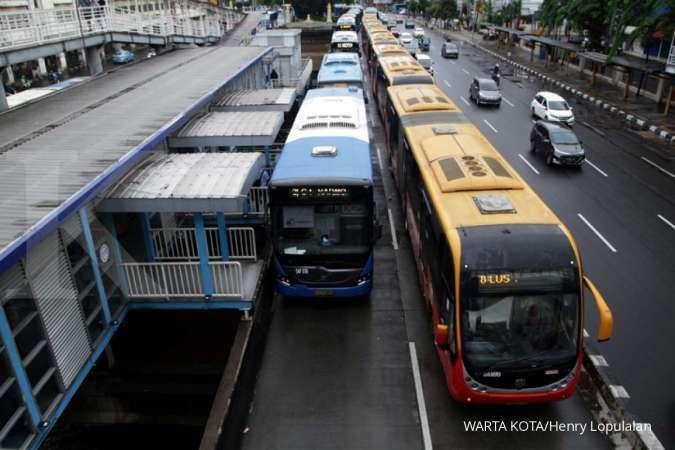 Kabar gembira, sejumlah halte di 9 koridor Transjakarta sediakan internet gratis