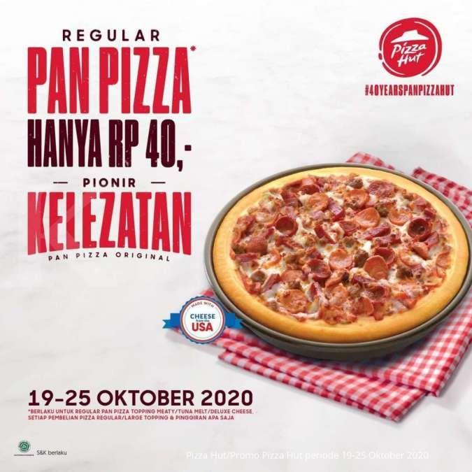 Promo Pizza Hut periode 19-25 Oktober 2020