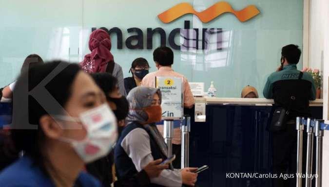 Laba Bank Mandiri turun 30,73% di kuartal III-2020, ini penyebabnya