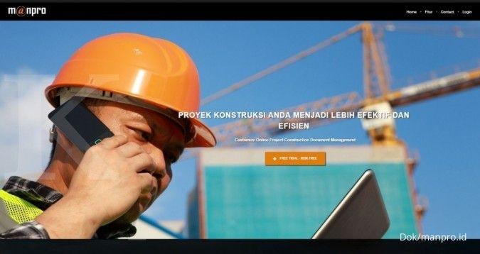 Mengintip kerja aplikasi pemantau proyek di lapangan