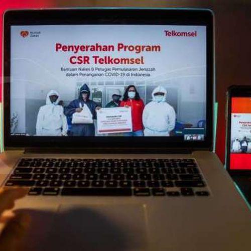 Telkomsel & Rumah Zakat Salurkan Bantuan APD Hingga Sembako kepada Tenaga Kesehatan & Pemulasaran Jenazah Covid-19 di In