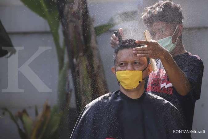 Jasa cukur online menjadi solusi di tengah pandemi, ini cerita pelaku usahanya