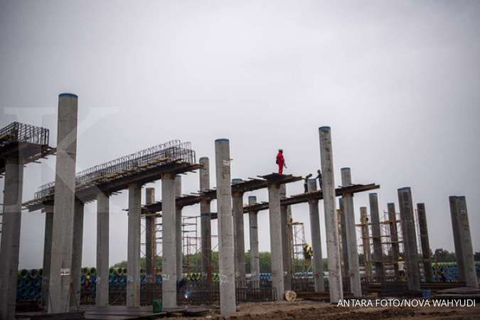 Target tuntas 2022, konstruksi Tol Indralaya-Prabumulih tembus 25%