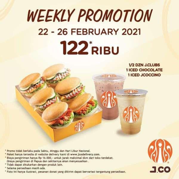 Promo J.CO 22-26 Februari 2021