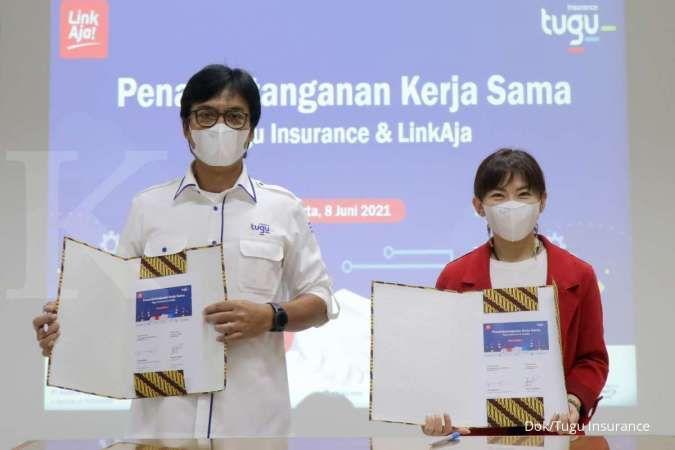 Beri kemudahan pembayaran bagi nasabah, Tugu Insurance Syariah gandeng LinkAja