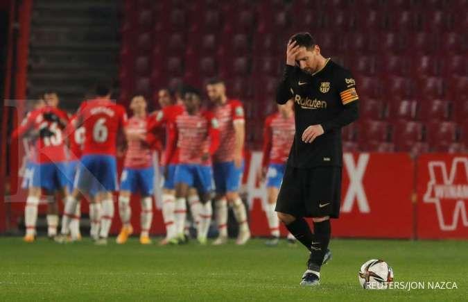 Masa depan Lionel Messi di Barcelona