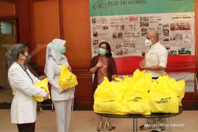 Bank Mandiri Donasikan Bantuan untuk Mendukung Indonesia Dalam Memerangi Covid-19