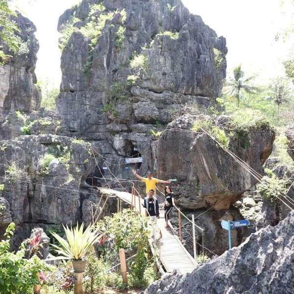 Ngerit Stone Park, tempat wisata alam yang cocok untuk dieksplorasi