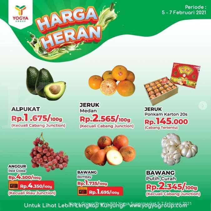 Promo JSM Yogya Supermarket 5-7 Februari 2021