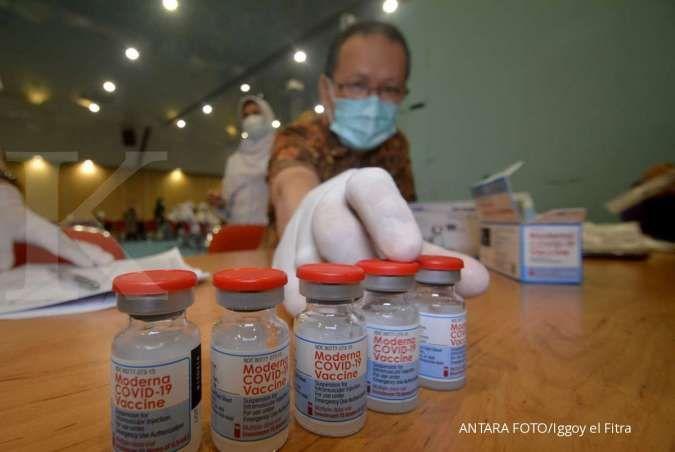 Ada tambahan 808.923 dosis vaksinasi pada Sabtu (31/7)