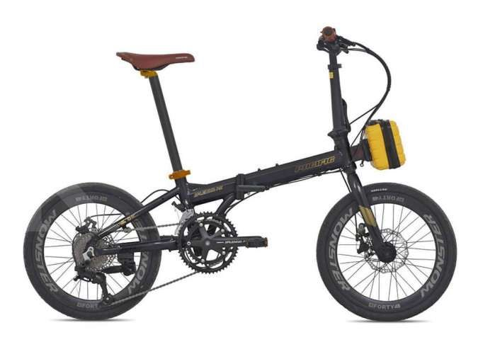 Tampil klasik! Harga sepeda lipat Pacific Splendid AX 20