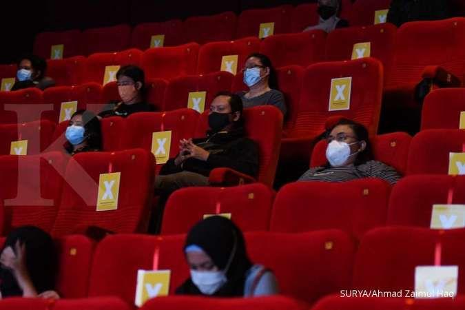 GPBSI catat kenaikan pengunjung bioskop dan omzet harian di momen Lebaran 2021