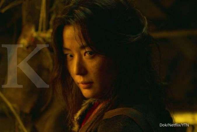 Jun Ji Hyun sebagai cameo di Kingdom season 2 Netflix.