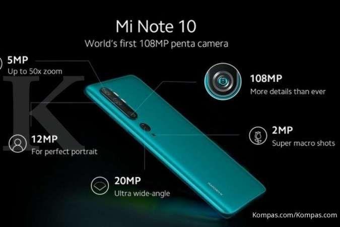 Xiaomi Mi Note 10 mulai dijual di Indonesia, tengok harganya