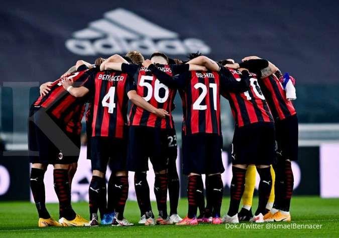 Juventus vs Milan: Kalah 0-3 dari Rossoneri, Bianconeri terancam di 5 besar Serie A
