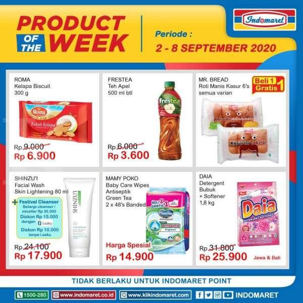 Promo Indomaret Product of The Week pekan ini, 6 September 2020