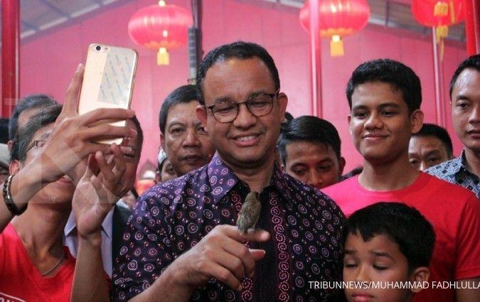 Calon Wakil Gubernur DKI Riza Patria mengaku sulit cari kekurangan Anies Baswedan