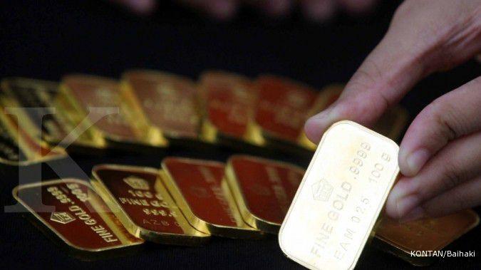 Harga emas Antam hari ini turun Rp 5.000 ke Rp 1.030.000 per gram, Senin (17/8)