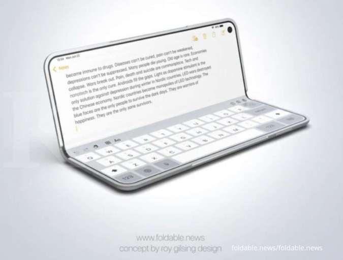 Dua konsep HP lipat Apple lolos uji ketahanan Foxconn, siap meluncur?