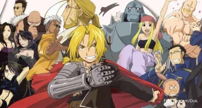Sinopsis anime Fullmetal Alchemist, tonton episode lengkap di iQIYI gratis dan legal