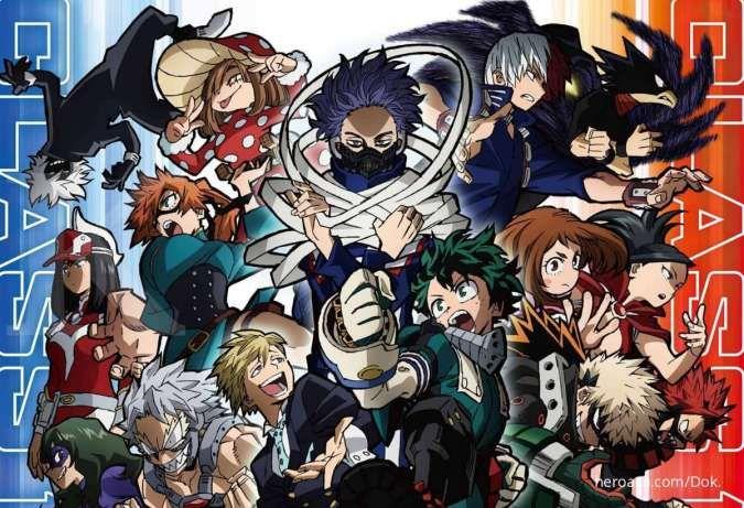 Ada My Hero Academia S5, berikut jadwal tayang anime episode baru pekan ini di iQIYI
