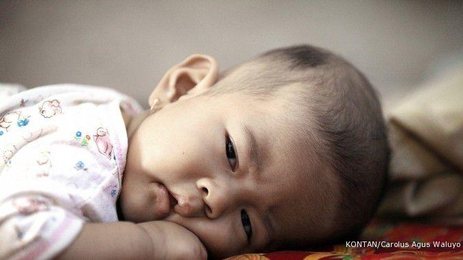 Menghindari dehidrasi adalah salah satu cara meredakan pilek pada bayi yang bisa Anda lakukan. /Pho KONTAN/Carolus Agus Waluyo/22/08/2011.