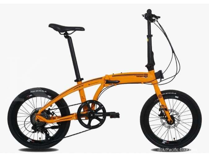 Tangguh, harga sepeda lipat Pacific Noris Transformers tak bikin kantong bolong