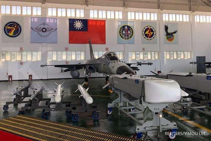 Siap hadapi China, Taiwan gelar latihan skenario perang jet tempur