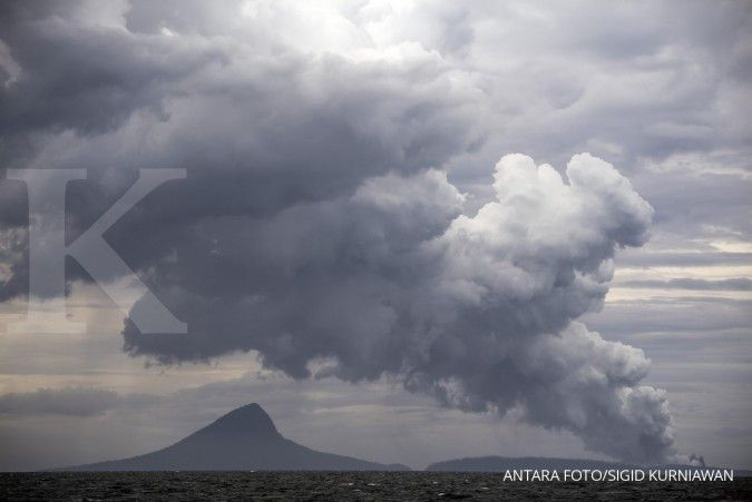 Heboh suara dentuman dini hari, PVMBG: Bukan dari Anak Krakatau