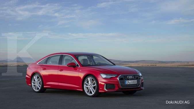 The All-New Audi A6 raih nilai tertinggi pengujian keselamatan pasif dari Euro NCAP