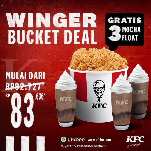 Promo KFC periode 12-25 Oktober 2020