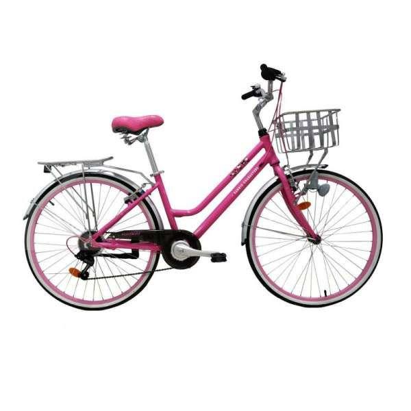 Ada warna pink, harga terbaru sepeda wanita Element Sanrio bersahabat di dompet