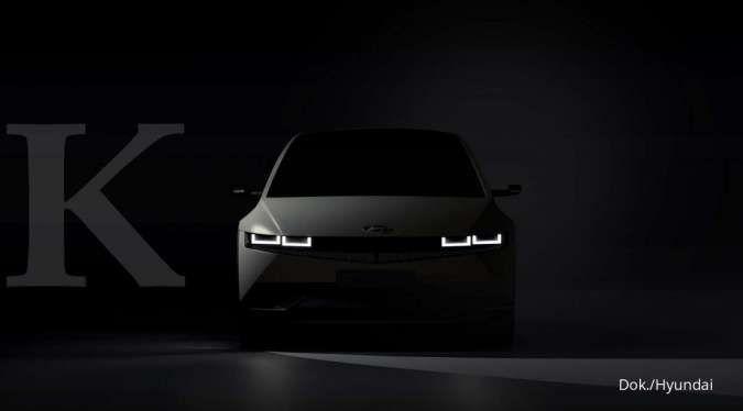 Siap meluncur bulan depan, begini teaser terbaru mobil listrik Hyundai Ioniq 5