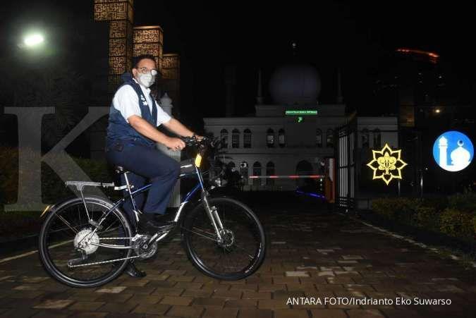Usulan Anies terbaru soal penggunaan sepeda bagi pekerja kantoran di Jakarta