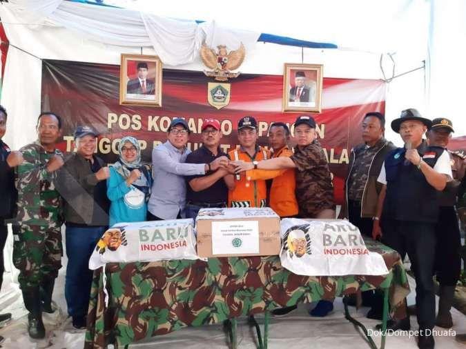 ARBI, MUI dan Dompet Dhuafa salurkan bantuan kepada penyintas bencana di Bogor