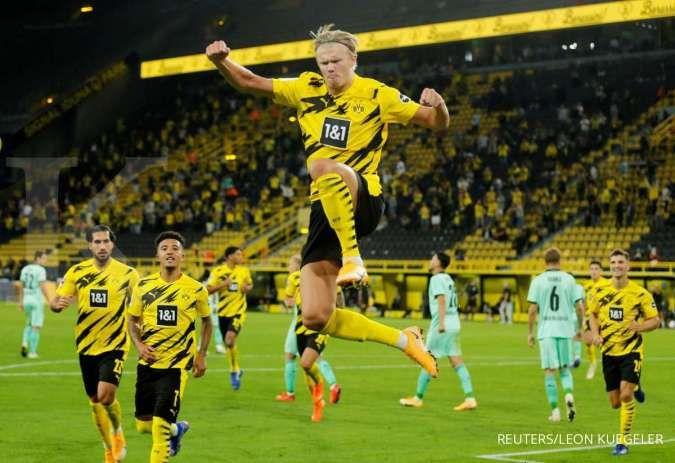 Chelsea berpotensi tuntaskan transfer fantastis Erling Haaland dari Borussia Dortmund