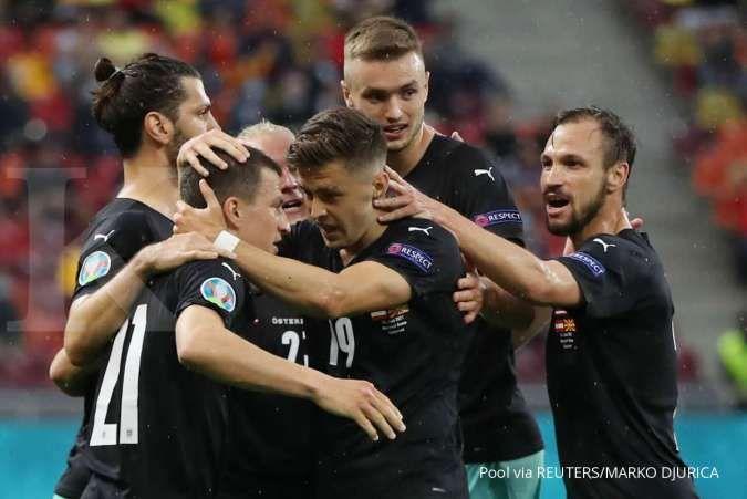 Ukraina vs Austria di Euro 2020: Tampil habis-habisan amankan posisi 16 besar